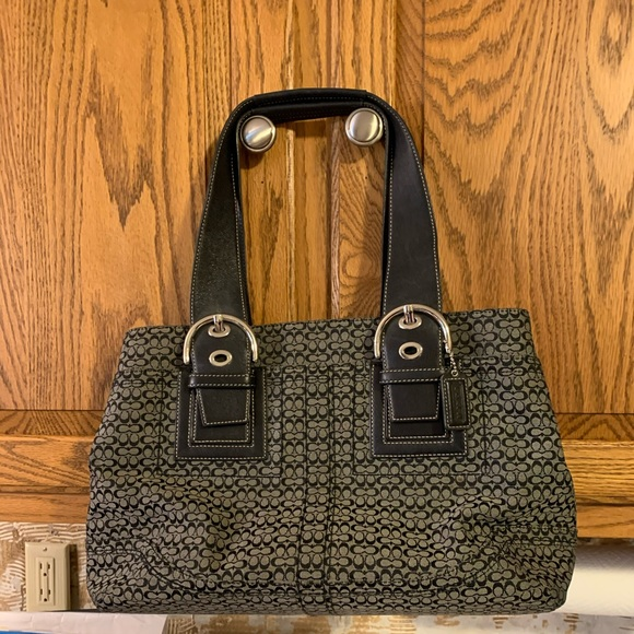 Coach Handbags - Coach signature mini-C tote